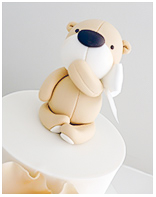Little Teddy Baby Shower cake