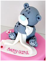 tatty-teddy-baby shower cake