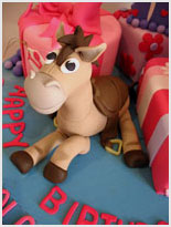 Bullseye-Toy Story Birthday Cake