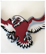 Manly Sea Eagles Birthday Cake