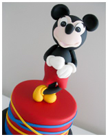 Mickey Mouse Childrens Cake