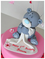 Tatty Teddy Birthday Cake