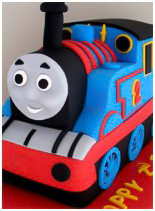 Thomas-The-Tank-Engine Birthday Cake