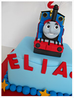 Thomas Tank Engine Birthday cake