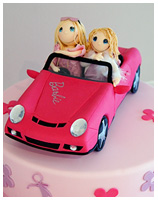 Barbie girl's Birthday Cake