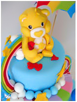 Care Bears birthday Cake