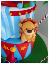 circus-carnival-clown-theme-birthday-cake