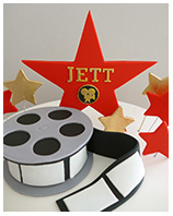Hollywood Movie Theme Birthday cake