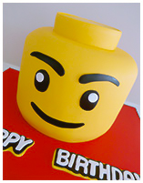 Lego Boys Birthday cake