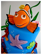 Finding Nemo kids birthday Cake