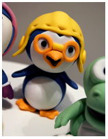 Pororo Birthday cake for kids