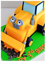 Scoop Bob the Builder Boys Birthday Cake