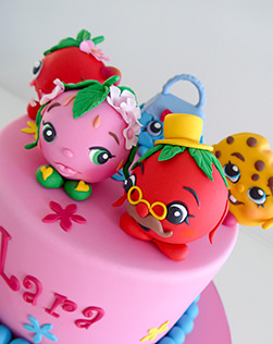 Shopkins birthday cake in Sydney