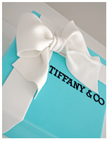 Tiffany & Co Gift Box Birthday Cake