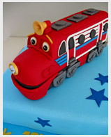 Chuggington Wilson Birthday Cake