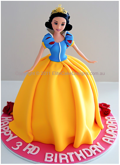 Snow White Princess Girls Birthday Cake