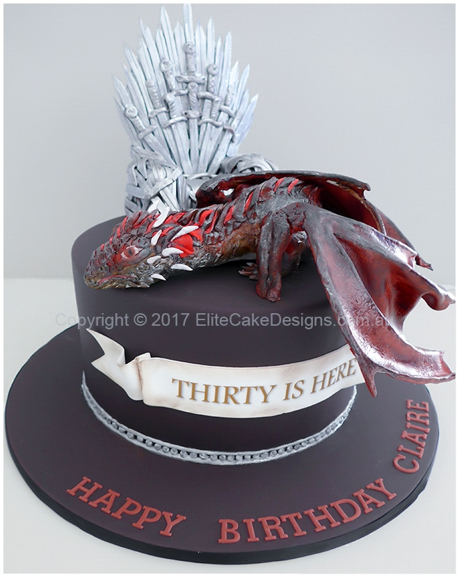 Game of Thrones birthday cake idea