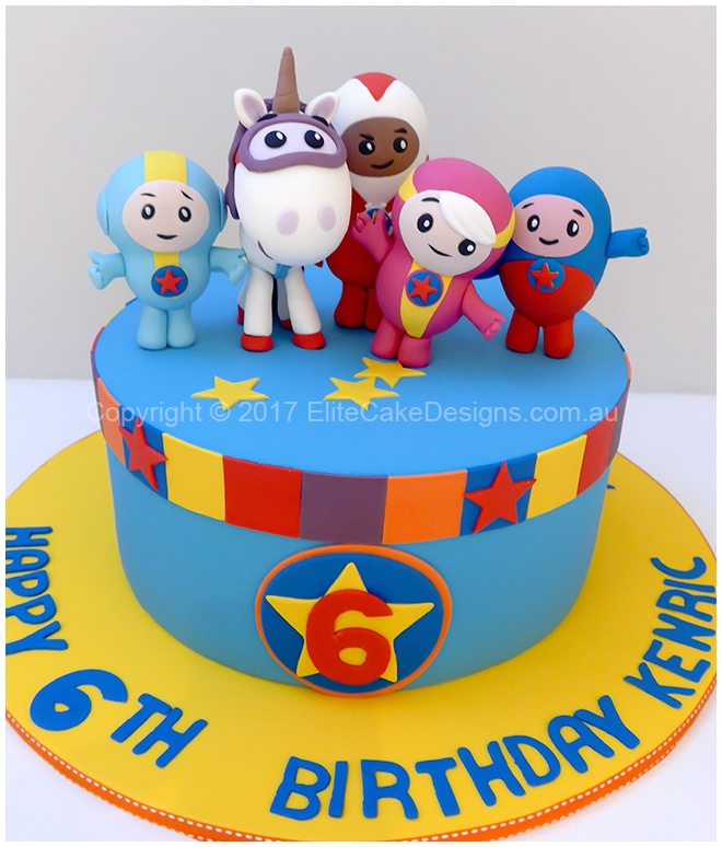 Hey Duggee kids birthday cake idea