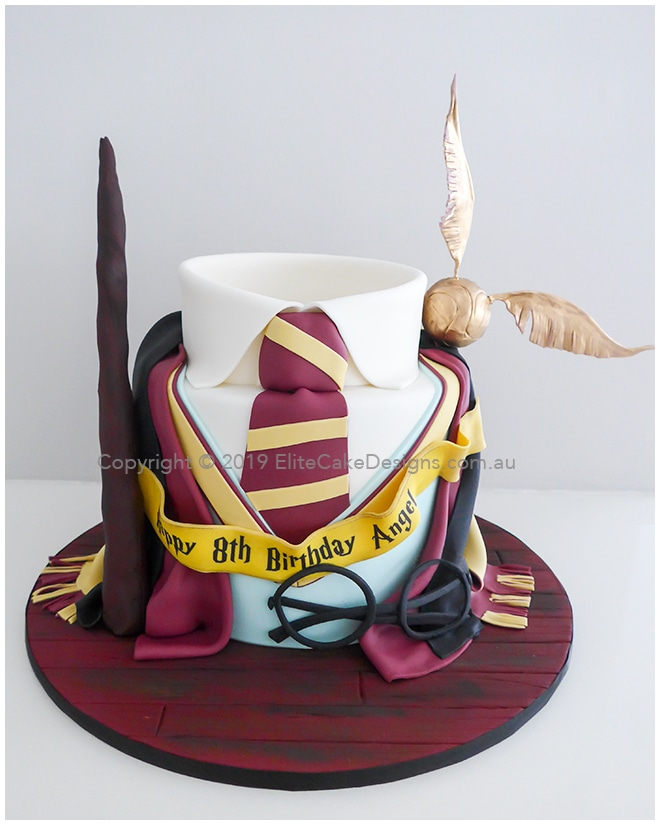 Harry Potter Uniform Birthday cake