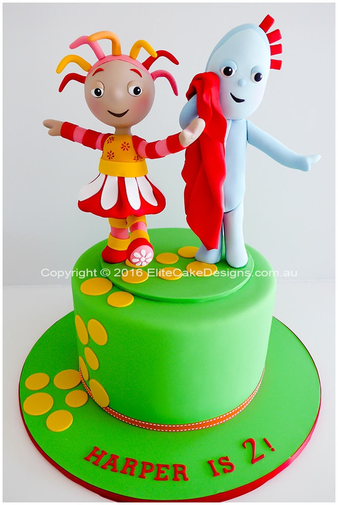 In the Night Garden kids birthday cake idea
