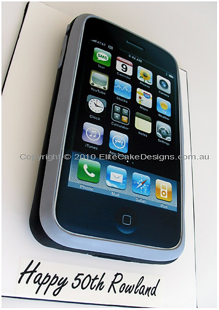 Apple iPhone 3G Novelty Birthday Cake
