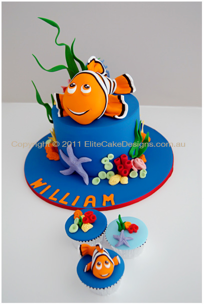 Nemo Kids Birthday Cake