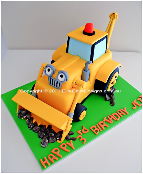Scoop digger Birthday Cake