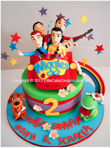 Wiggles Big Red Car Birthday Cake