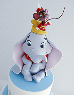 Dumbo boys Christening Cake