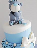 Tatty Teddy Christening Cake Sydney