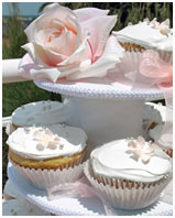 Rose & Blossoms Cupcakes