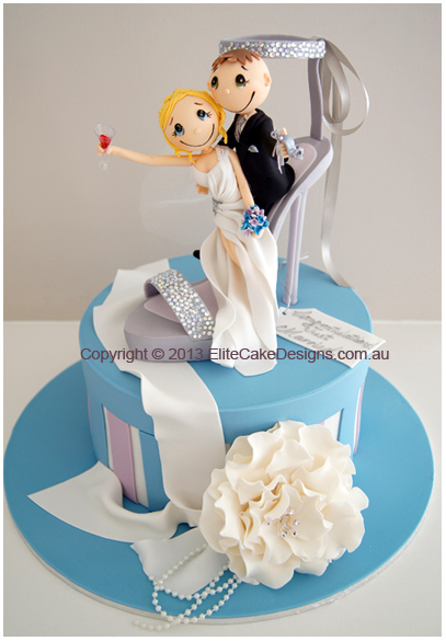 Stiletto theme Wedding Novelty cake