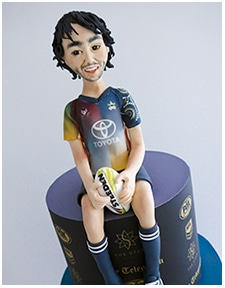 Nth Queensland Johnathan Thurston cake